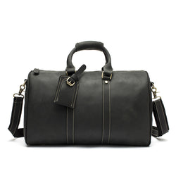Vintage Genuine leather Travel Duffle Bag