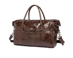 Cowhide Leather 20 Inch Duffle Bag