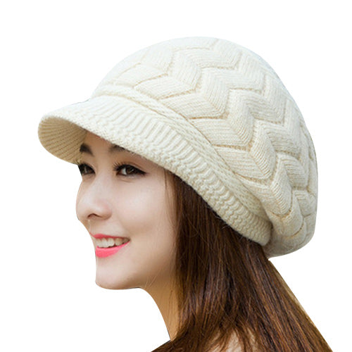 Women's Fleece-lined Knit Hat