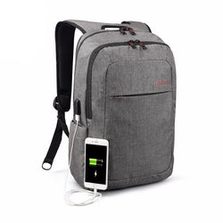 Backpack with External USB Charge access