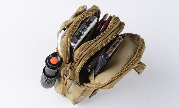 Tactical Hand Bag MOLLE attachable
