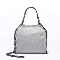 Women's Soft Crossbody Chain Bag