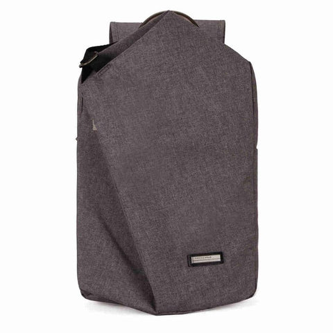VICUNA POLO Casual Canvas Laptop Backpack With Metal Handle