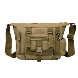 Military Styled Cross Body Messenger Bag