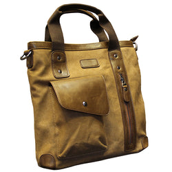 Vintage Canvas Handbag Shoulder bag Male Tote