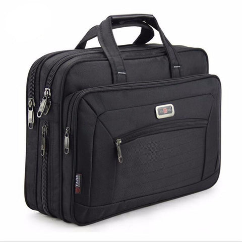 Waterproof Oxford Business Briefcase Shoulder Bag for 16 inch laptop