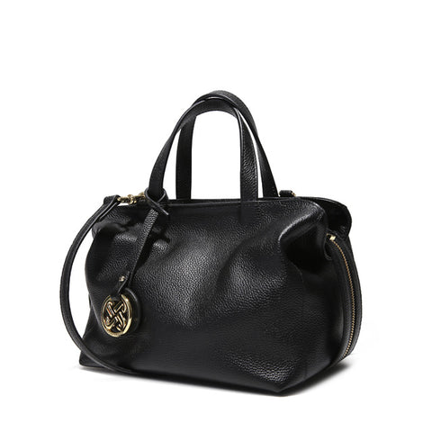 Women's  Designer Leather Satchel Bag