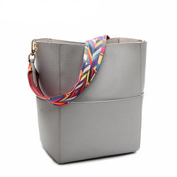 Famous Brand Luxury Bucket Tote Crossbody Bag
