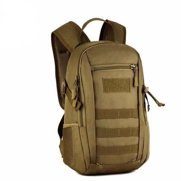 Small 12L Waterproof Tactical Backpack  MOLLE Ready