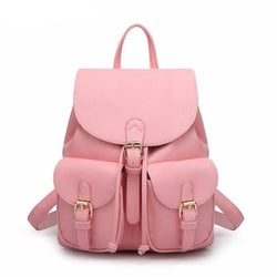 Women's Large Leather Backpack/Travel Bag
