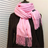 Oversize Cashmere Scarf for Her