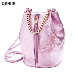 Women's Metallic Shoulder Bag