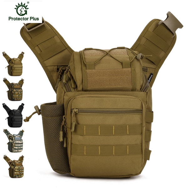Mochila Tactics Military Oxford Shoulder Bag Multifunctional Camera Bag Travel Messenger Bag Men Bag K67