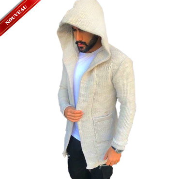 OUBRYE TRICOT BEIGE  |  TRICOT HOMME MAROC