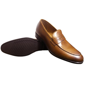 JUSTIN - Chaussure Cuir TABAC | Chaussure Homme Classe Maroc