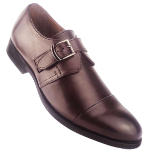ROMIE - Chaussure Cuir MARRON | Chaussure Homme Classe Maroc