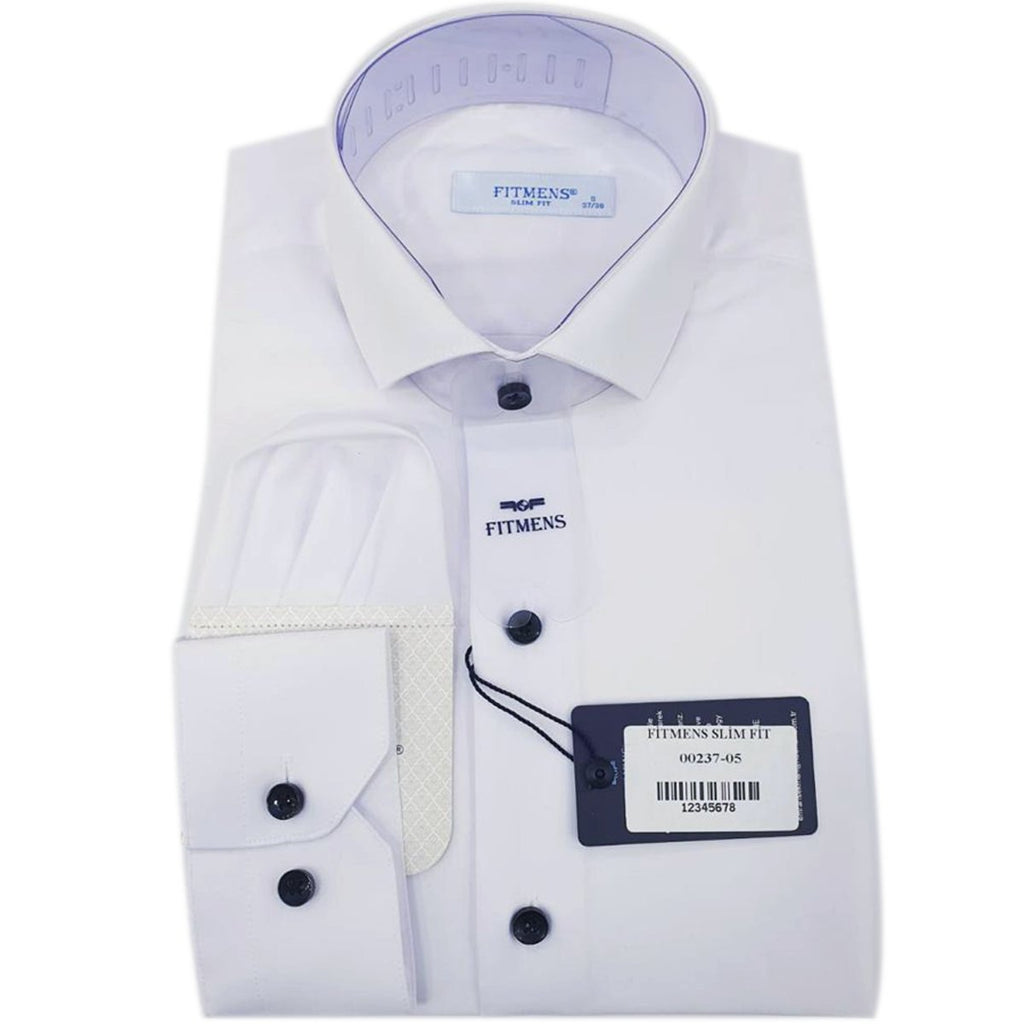 ODILE-CHEMISE BLANCHE | CHEMISE HOMME TURQUE