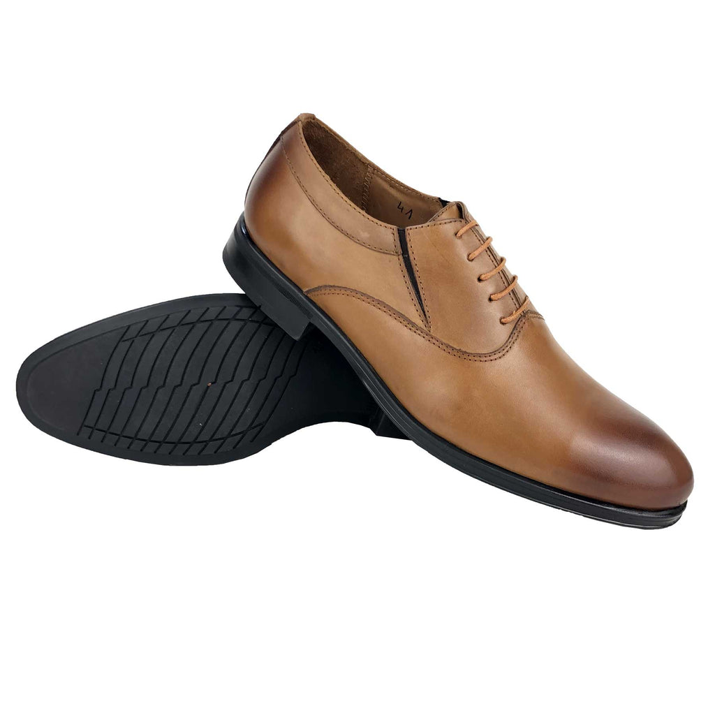 CH0044-015 - Chaussure Cuir TABAC | Chaussure Homme Classe Maroc