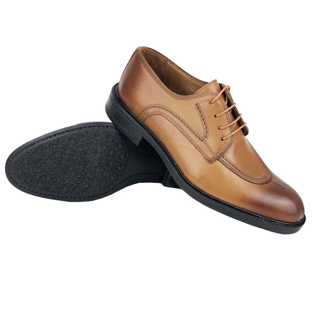 CH1301-015 - Chaussure Cuir SABLE | Chaussure Homme Classe Maroc