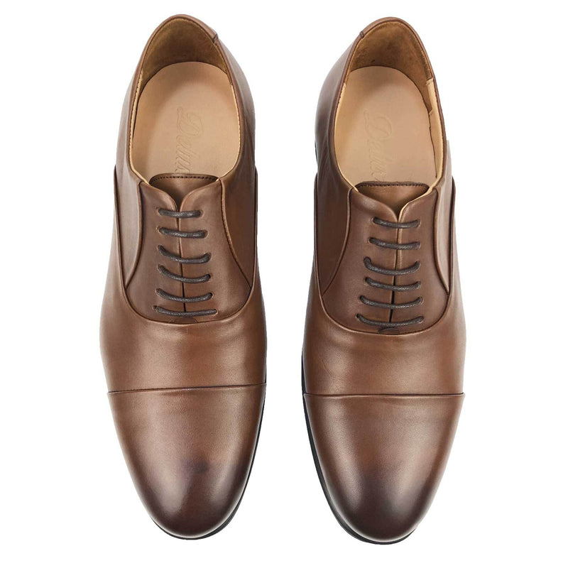 CH1321-015 - Chaussure Cuir TABAC | Chaussure Homme Classe Maroc