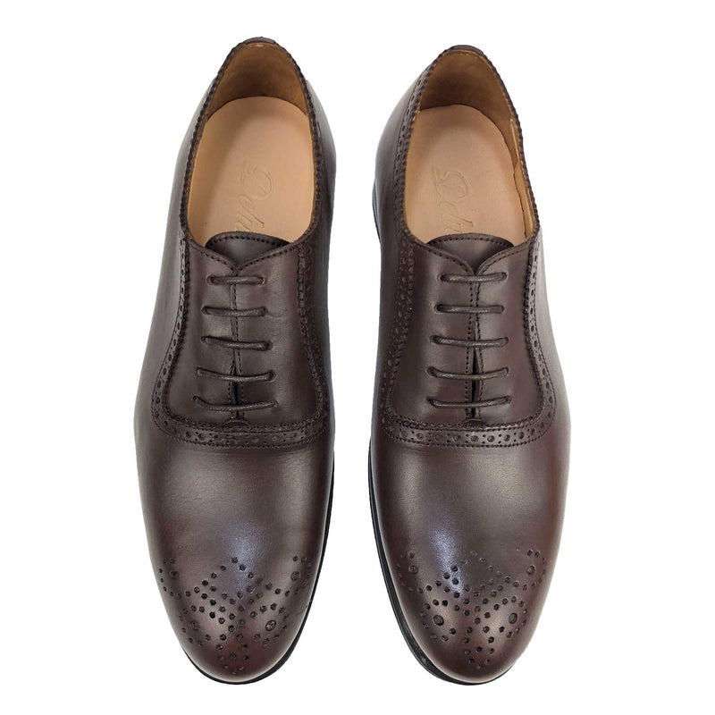 CH1400-015 - Chaussure cuir MARRON - deluxe-maroc