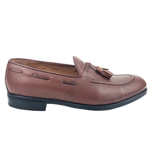 CH1402-015 - Chaussure cuir Taba - deluxe-maroc
