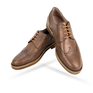 CH1577-015 - Chaussure cuir taba - deluxe-maroc