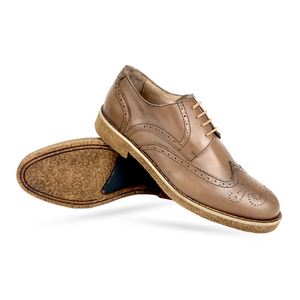 CH1577-015 - Chaussure Cuir TABAC | Chaussure Homme Classe Maroc