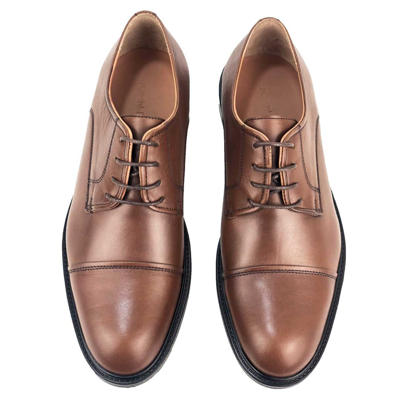 CH311-015 - Chaussure Cuir TABAC| Chaussure Homme Classe Maroc