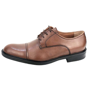 CH311-015 - Chaussure cuir Taba - deluxe-maroc