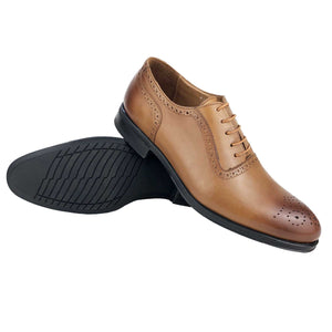 CH412-015 - Chaussure Cuir SABLE| Chaussure Homme Classe Maroc