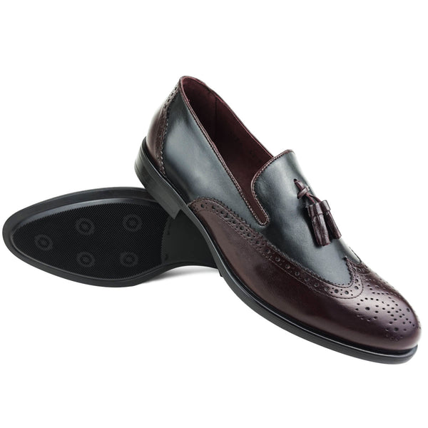 AXEL- Chaussure Cuir Noir  | Chaussure Homme Classe Maroc deluxe