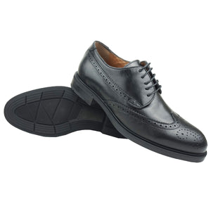SOLAL - Chaussure Cuir Noir | Chaussure Homme Classe Maroc deluxe