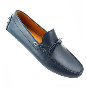 CHELSEA - Mocassin cuir Blue