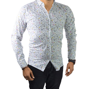 ISAAC - Chemise Homme Blanc  | Chemise Homme Turque deluxe