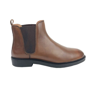 BO1052-015 - BOTTINE Cuir TABAC | Chaussure Homme Classe Maroc