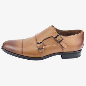 CH321-015 - Chaussure cuir Sable - deluxe-maroc