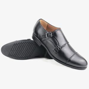 CH321-015 - Chaussure Cuir NOIR - deluxe-maroc