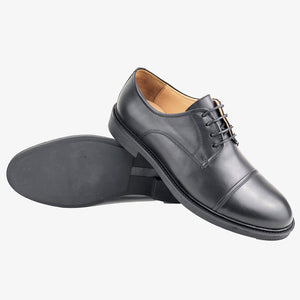 CH311-015 - Chaussure cuir NOIR - deluxe-maroc