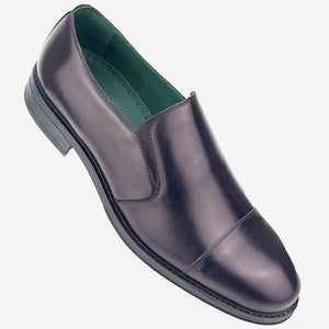CH013-019  - Chaussure Cuir Marron - deluxe-maroc