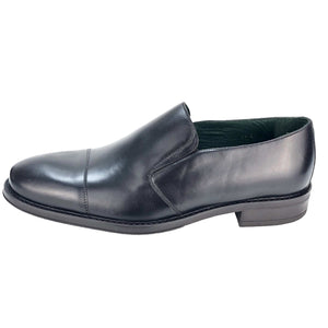 CH013-019  - Chaussure Cuir Noir - deluxe-maroc