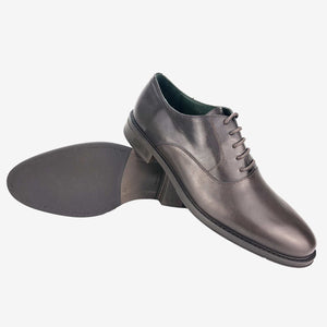 CH01-019  - Chaussure Cuir Marron - deluxe-maroc