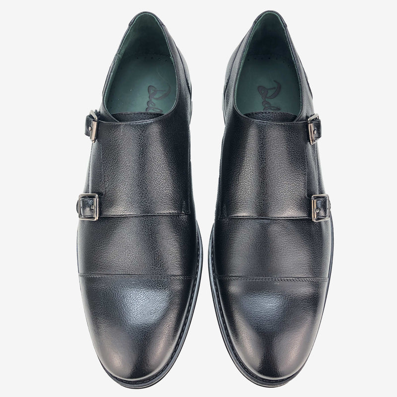 CH411-019  - Chaussure Cuir Noir - deluxe-maroc