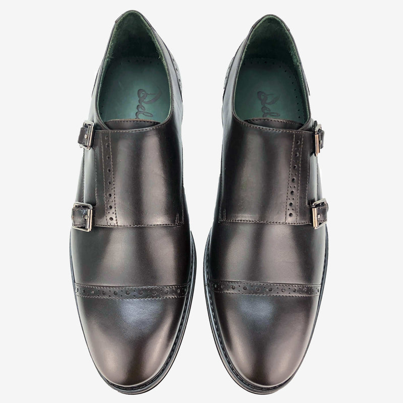 CH411-019  - Chaussure Cuir Marron - deluxe-maroc
