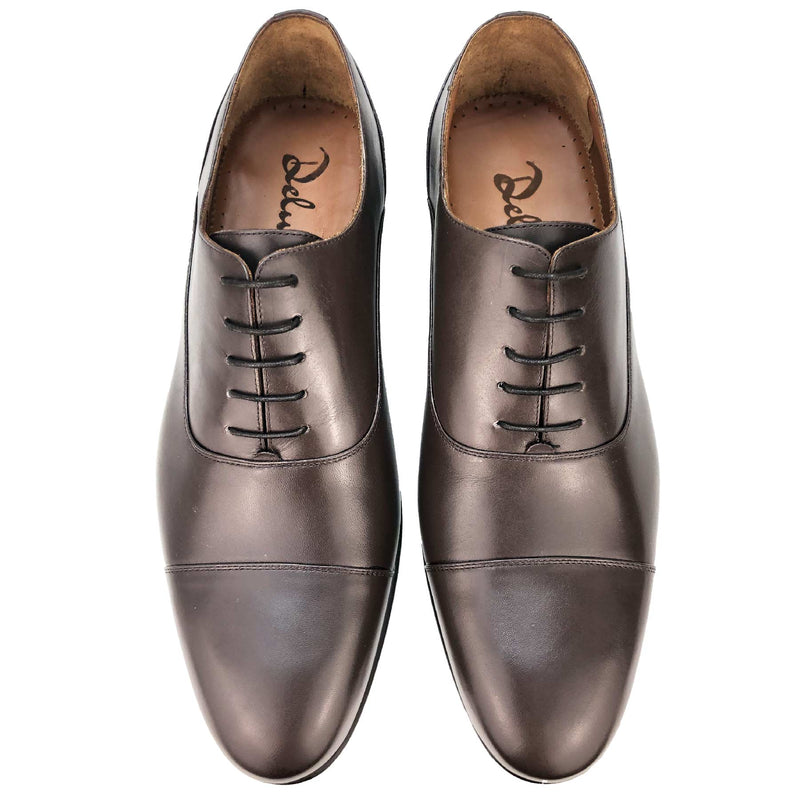CH325-019  - Chaussure Cuir Marron - deluxe-maroc