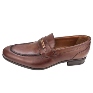 CH014-019  - Chaussure Cuir Taba - deluxe-maroc