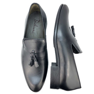 CH588-015 - Chaussure cuir NOIR - deluxe-maroc