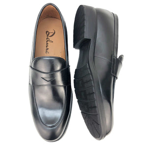 CH1544-019  - Chaussure Cuir NOIR - deluxe-maroc