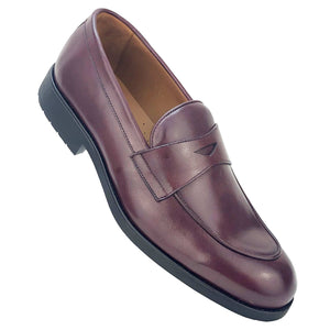 CH1544-019  - Chaussure Cuir Bordeaux - deluxe-maroc