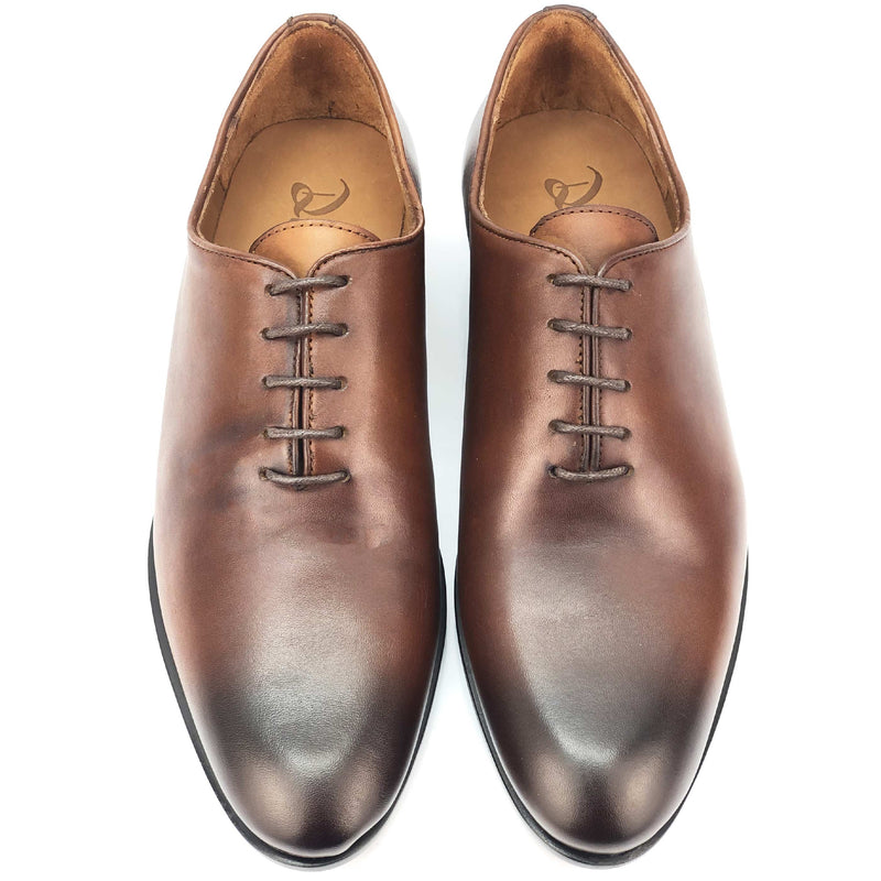 CH587-015 - Chaussure cuir Tabac - deluxe-maroc